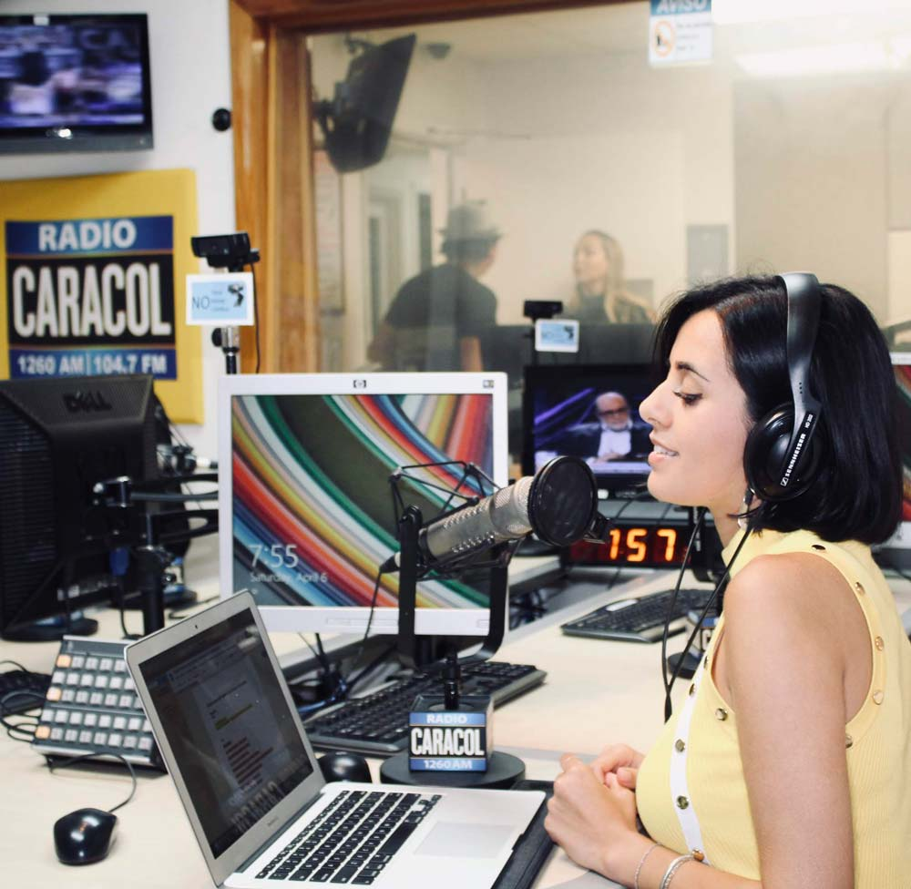irene diaz radio presentadora