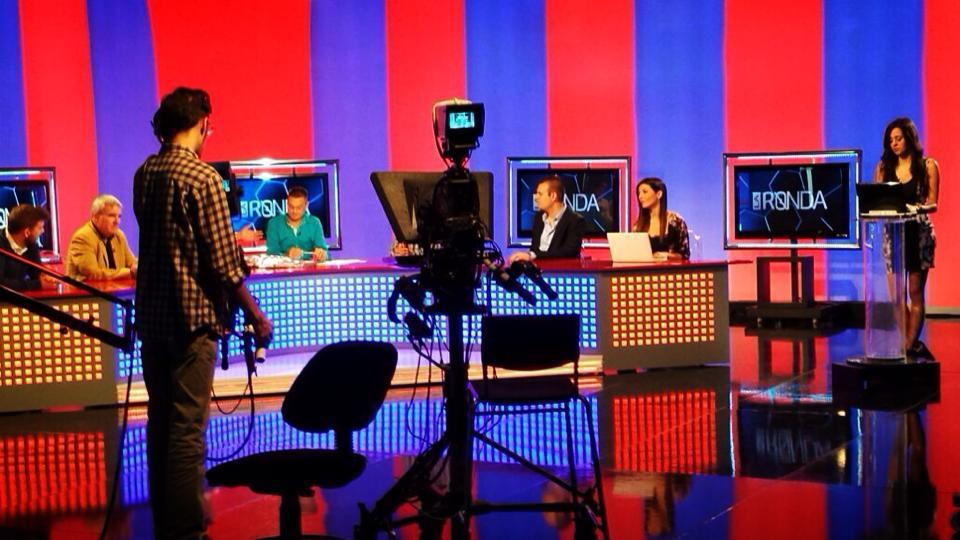 presentadora de television irene diaz barça tv