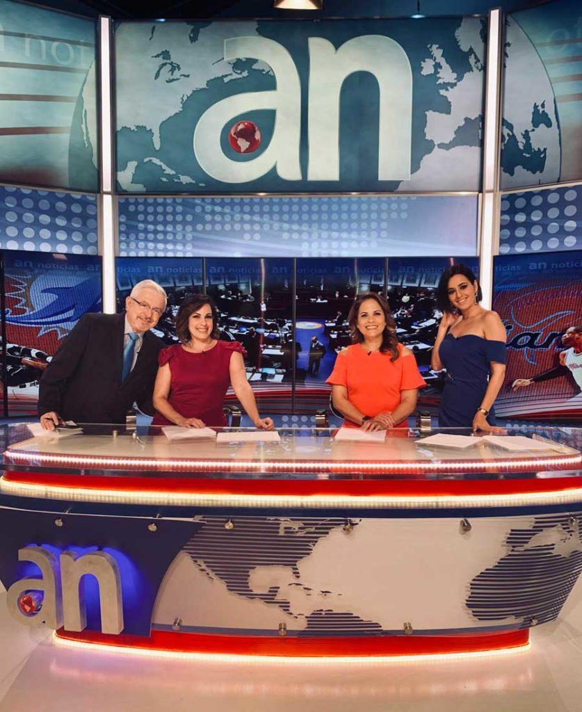 presentadora de television irene diaz amercateve
