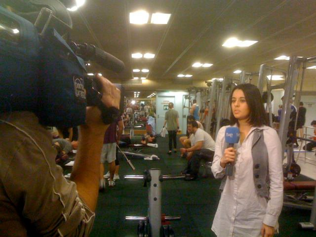 presentadora de television irene diaz